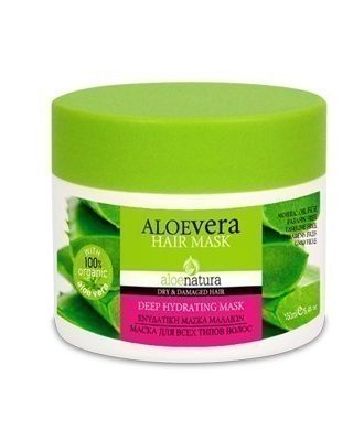 Hair mask rich in Vitamins and nourishing Almond and Sunflower oil.