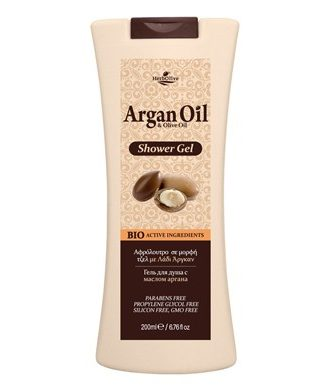 Shower bath gel with organic olive oil and Argan oil.