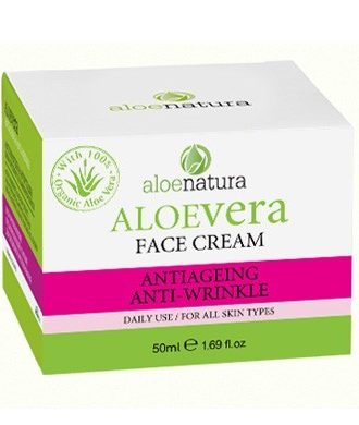 Face cream with strong anti-age and detox factors.