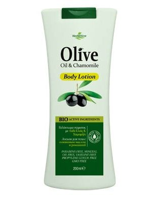 The combination of olive oil with chamomile hydrates, soothes and protects the skin. It helps skin to maintain its elasticity and shine.