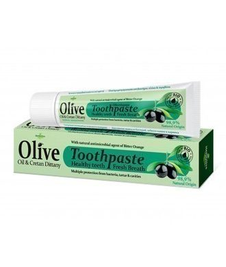 Herbolive toothpaste with Dittany contains 98% natural ingredients.