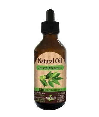 Laurel oil is usually used for the protection and tonification of your hair and for darkening its colour.