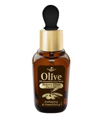 Face antiageing and nourishing oil, with oil from grape's kernel and dittany. Oil from grape's kernel and dittany are natural antioxidants and they are rich in nourishing elements.