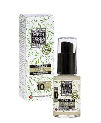 Serum with strong anti-ageing and tightening properties.