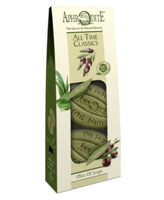 Thanks to their high olive oil content, our soaps gently cleanse and moisturize your skin in depth.
