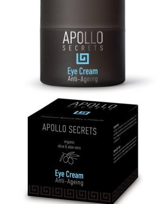 Eye cream with organic aloe and olive, which protects the delicate eye area, keeping the skin hydrated and vigorous in depth.