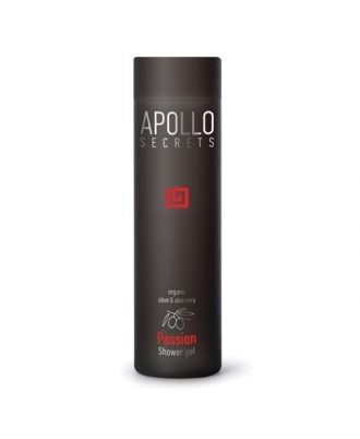 Shower gel with a light, cool texture, organic aloe vera, basil, olive and tea, for active and dynamic characters