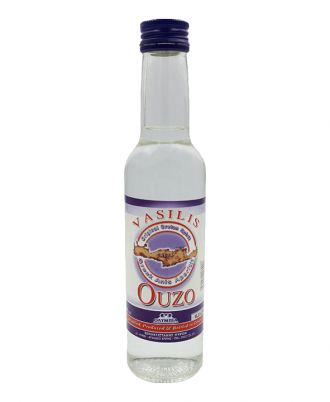 Ouzo is a greek traditional liquer