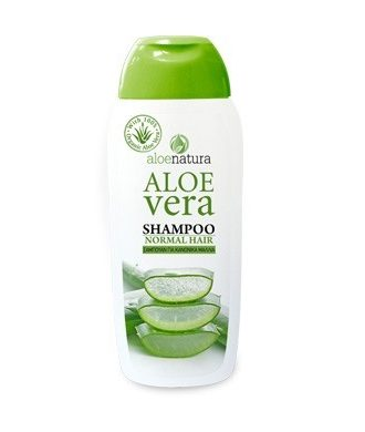 Normal Hair Type, Frequent Use, Dry & Colored Hair Shampoo with active extract of organic Aloe.