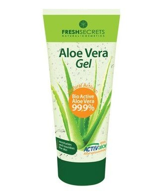 Soothing Gel enriched with 99.9% Organic Aloe Vera.