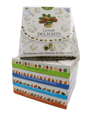 Served in small, cubic-shaped pieces, and often contains almond, while available in various flavors.