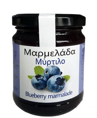 Marmalade from Blueberries