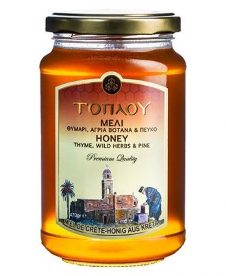 It is produced and certified according to the strict standards of high quality from wild aromatic plants of Crete.